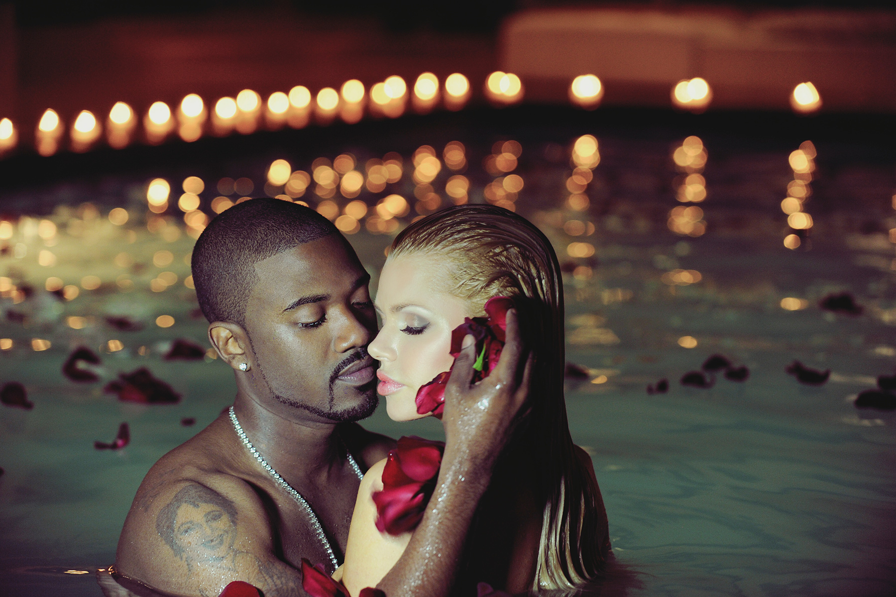 Ray J & Sophie Monk. Photo © Jared Milgrim